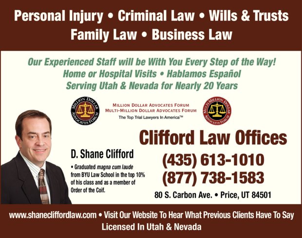 Clifford Law Offices in Huntington, UT